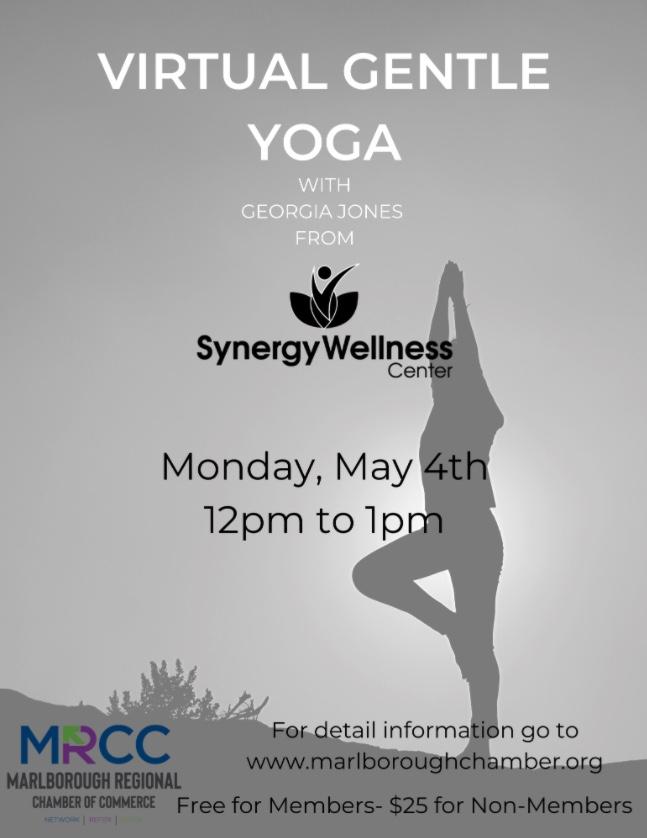 Virtual Gentle Yoga May 4th 2020