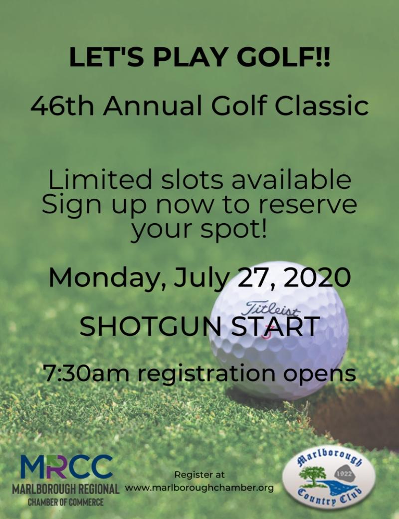 46 annual golf classic flyer